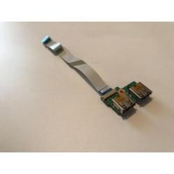 Tarjeta Puertos USB con Cable flex Compaq CQ61